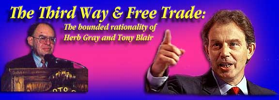 an analysis of tony blairs third way The proposal of a third way the concept of third way is an effort to synthesise the ideas which drive the renovation of social democracy (driver and martell, 2000), which in the case of great britain is associated with the politics of new labour and tony blair (giddens, 1998.