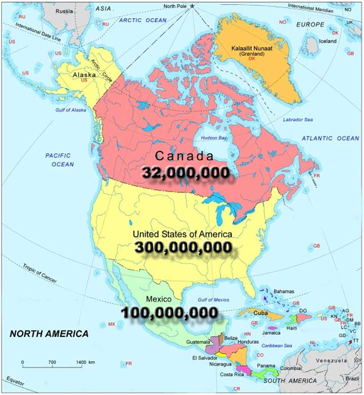 North American Union will be the triumph of Manifest Destiny by